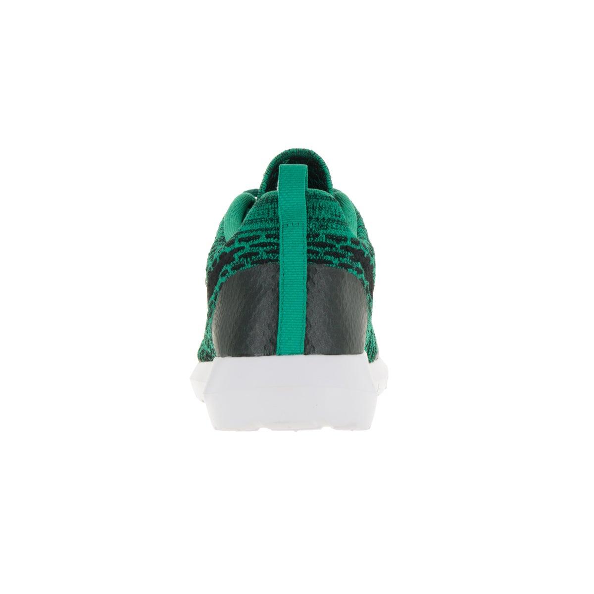 los angeles d9981 86615 Shop Nike Men s Roshe NM Flyknit SE Lucid Green Black White Running Shoe -  Free Shipping Today - Overstock - 13394785
