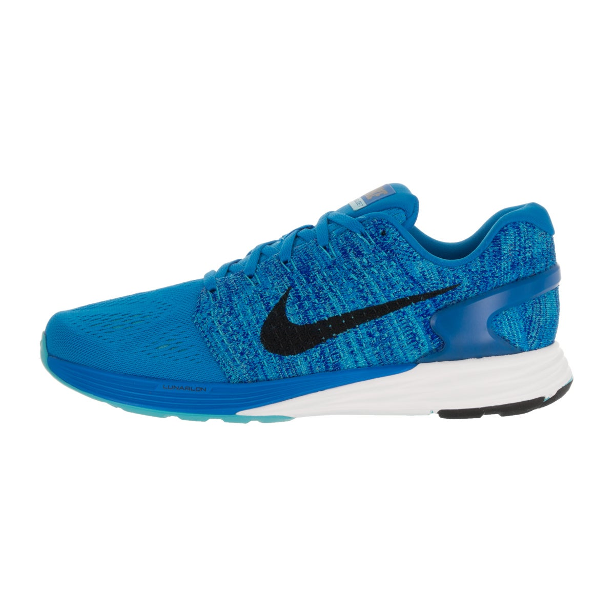 fdf53fa863ddb Shop Nike Men s Lunarglide 7 Photo Blue Black Gmm Bl Cncrg Running Shoe  (Size 10) - Free Shipping Today - Overstock - 13394950
