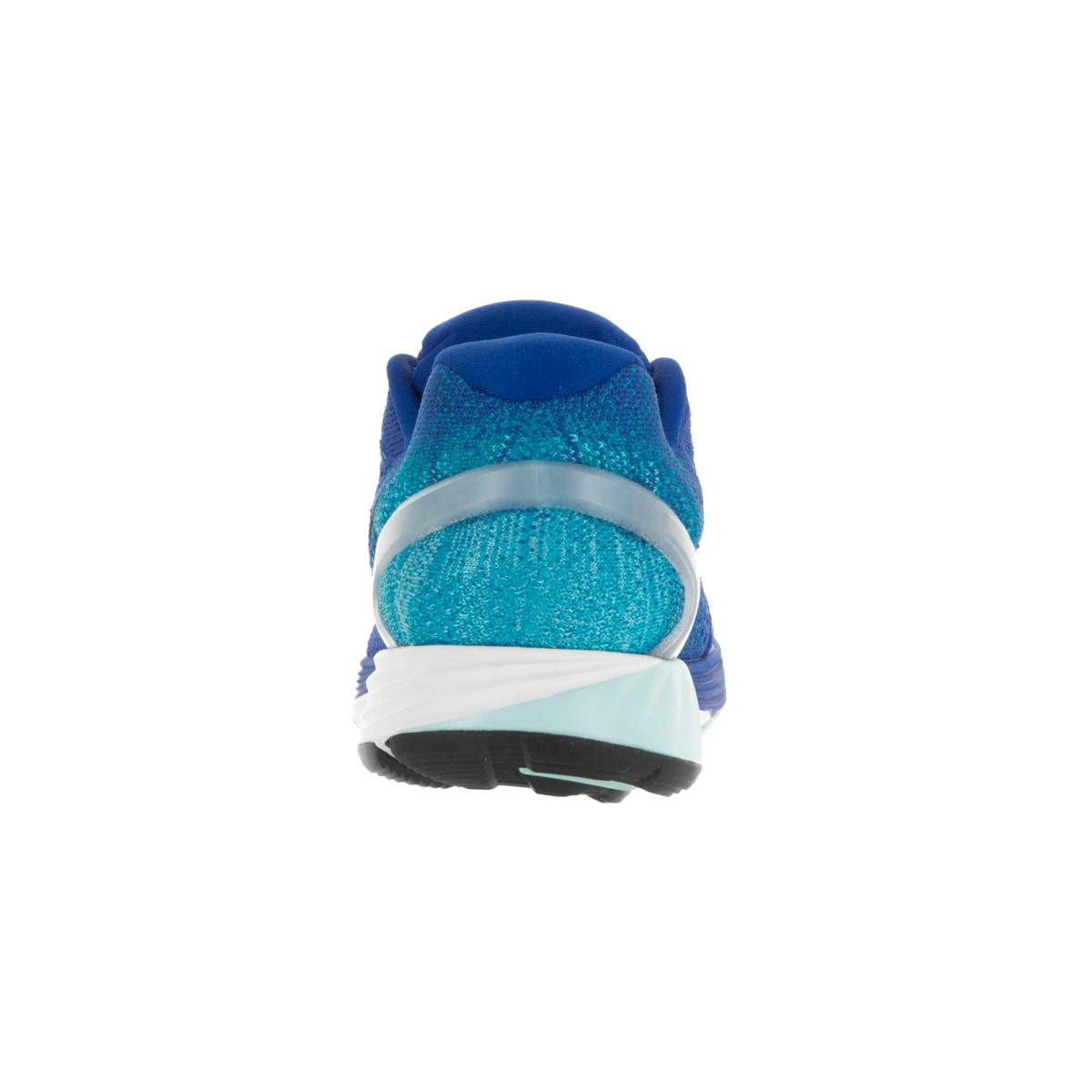 89eee255c09b Shop Nike Men s Lunarglide 7 Game Royal Black Blue Lagoon Running Shoe -  Free Shipping Today - Overstock - 13394952