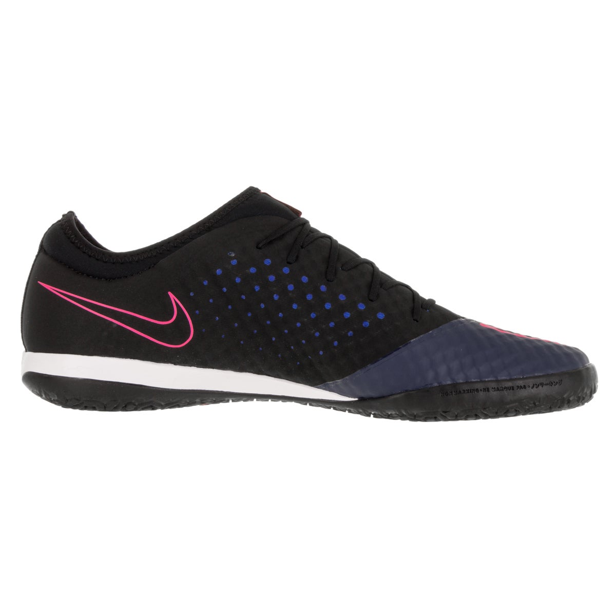 c64e3bb3ef8 Shop Nike Men s Mercurialx Finale IC Mid Navy Mid Navy Black Pink Blast  Indoor Soccer Shoe - Free Shipping Today - Overstock - 13394988