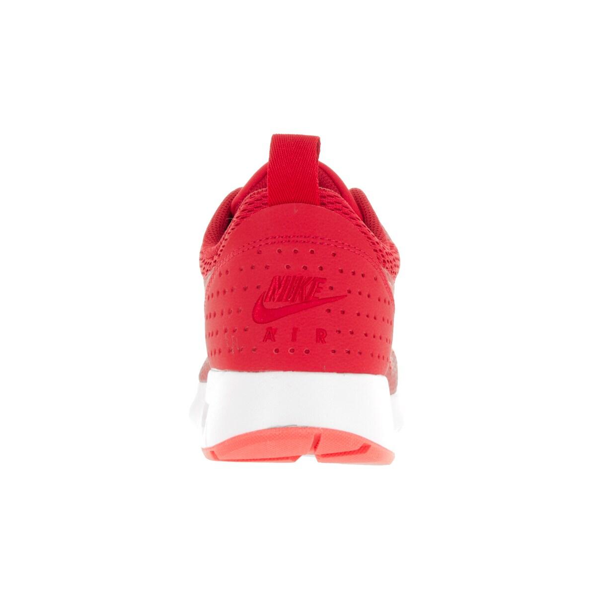 watch 62647 86db6 Shop Nike Men s Air Max Tavas University Red Lt Crimson Wht Running Shoe -  Free Shipping Today - Overstock - 13395030