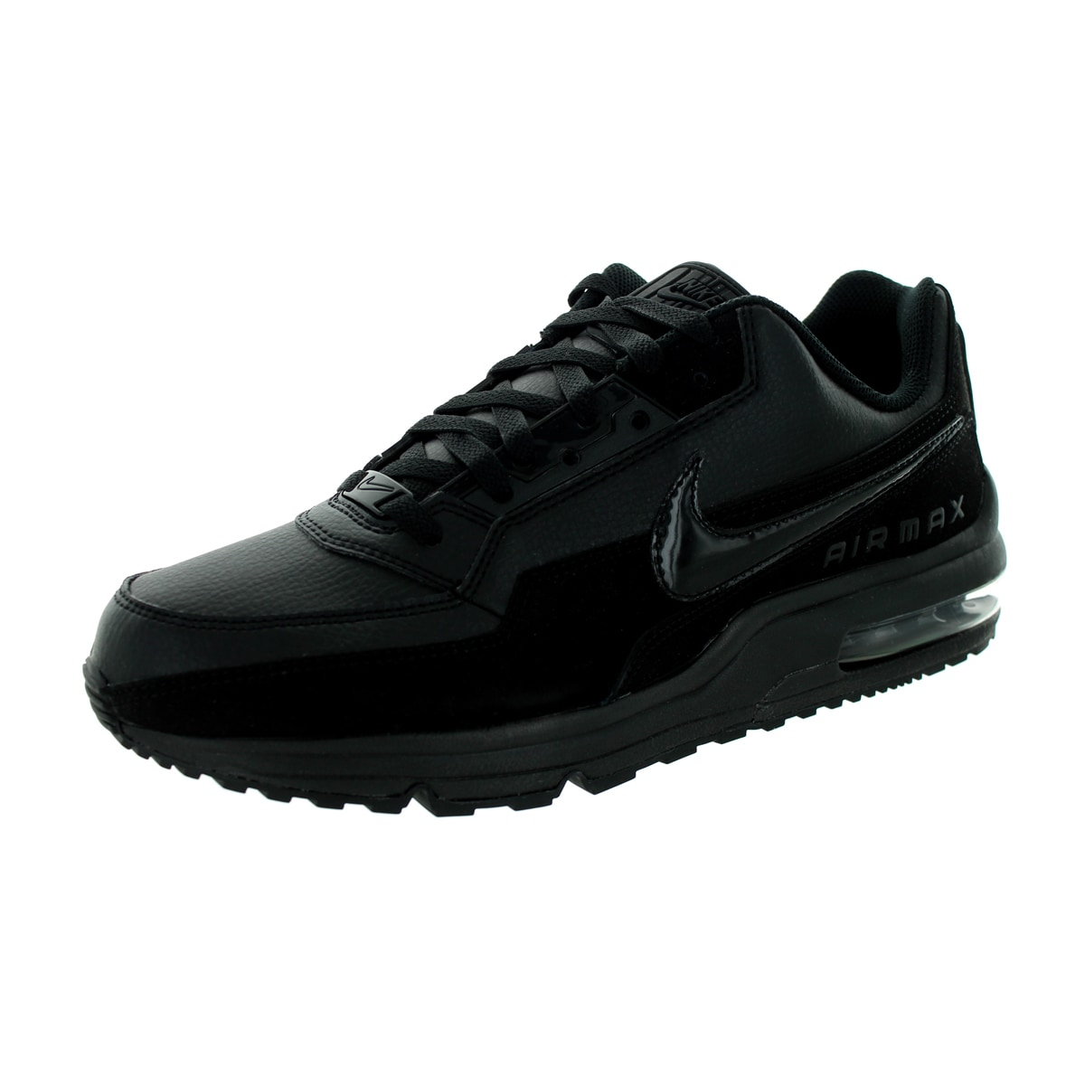 2a1e71d74 Shop Nike Men's Air Max LTD 3 Black/Black/Black Running Shoe (Size 12) -  Free Shipping Today - Overstock - 13395067