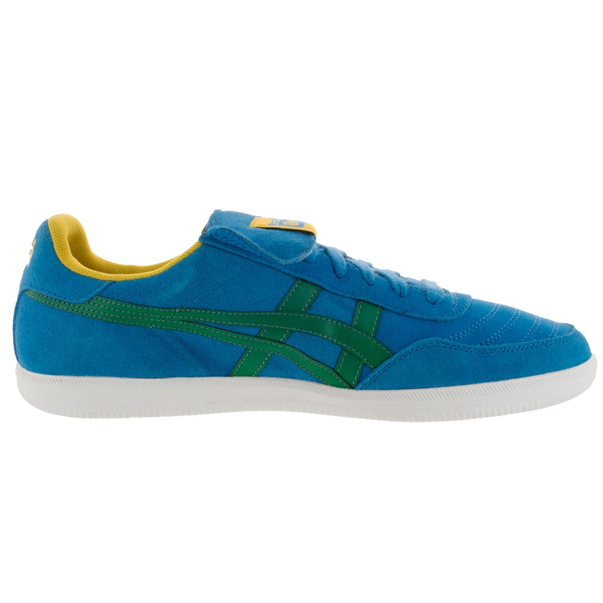 official photos 86511 ef575 Onitsuka Tiger Unisex Hulse Mid Blue/Green Suede Casual Shoe