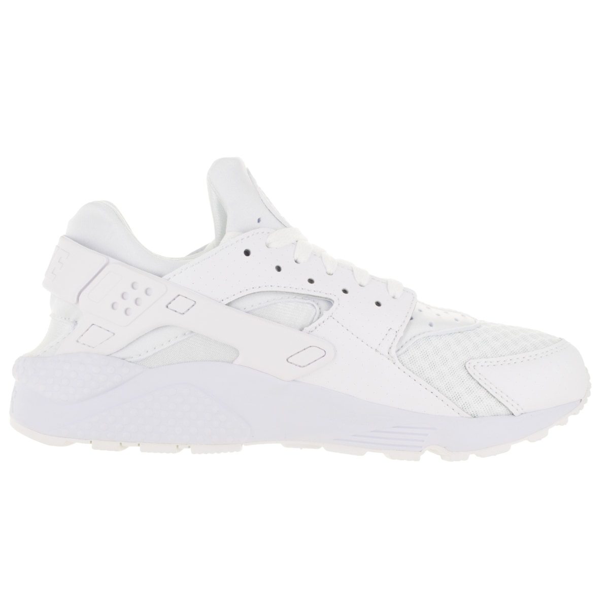 outlet store 96056 755a1 Shop Nike Men s Air Huarache White White Pure Platinum Running Shoe - Free  Shipping Today - Overstock - 13395237