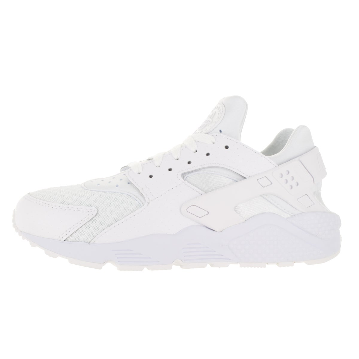 820eb1daf9b16c Shop Nike Men s Air Huarache White White Pure Platinum Running Shoe - Free  Shipping Today - Overstock - 13395237