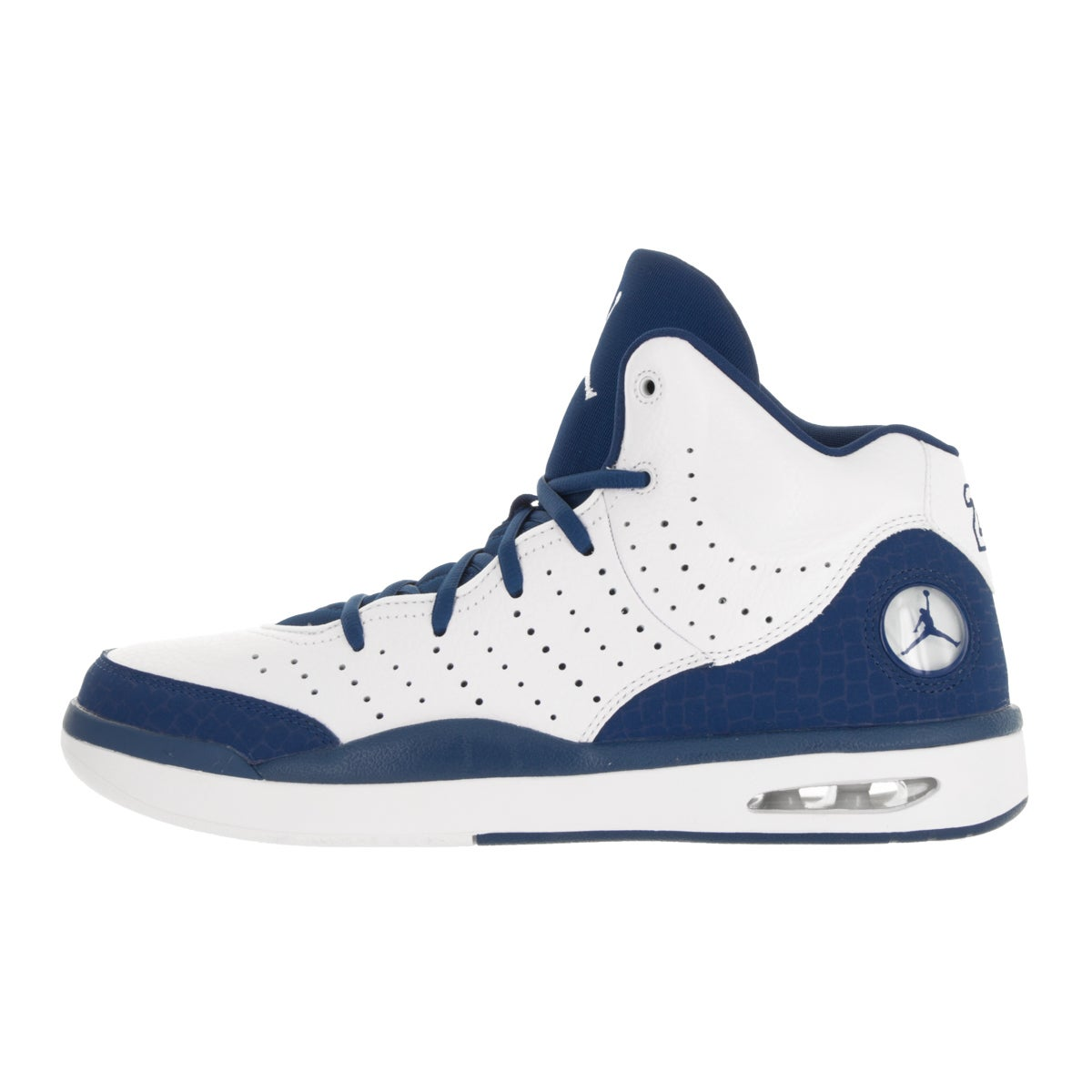 competitive price 415c3 ab23e Shop Nike Jordan Men's Jordan Flight Tradition White/French Blue Basketball  Shoe - Free Shipping Today - Overstock - 13395409