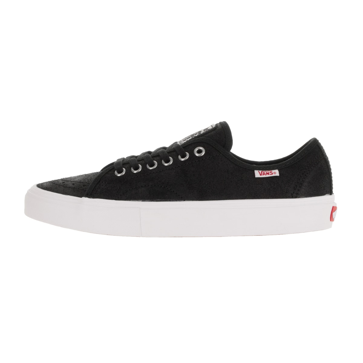 b90e5a6d7210 Shop Vans Men s  AV Classic  Black and White Oiled Suede Skate Shoes - Free  Shipping Today - Overstock.com - 13395500