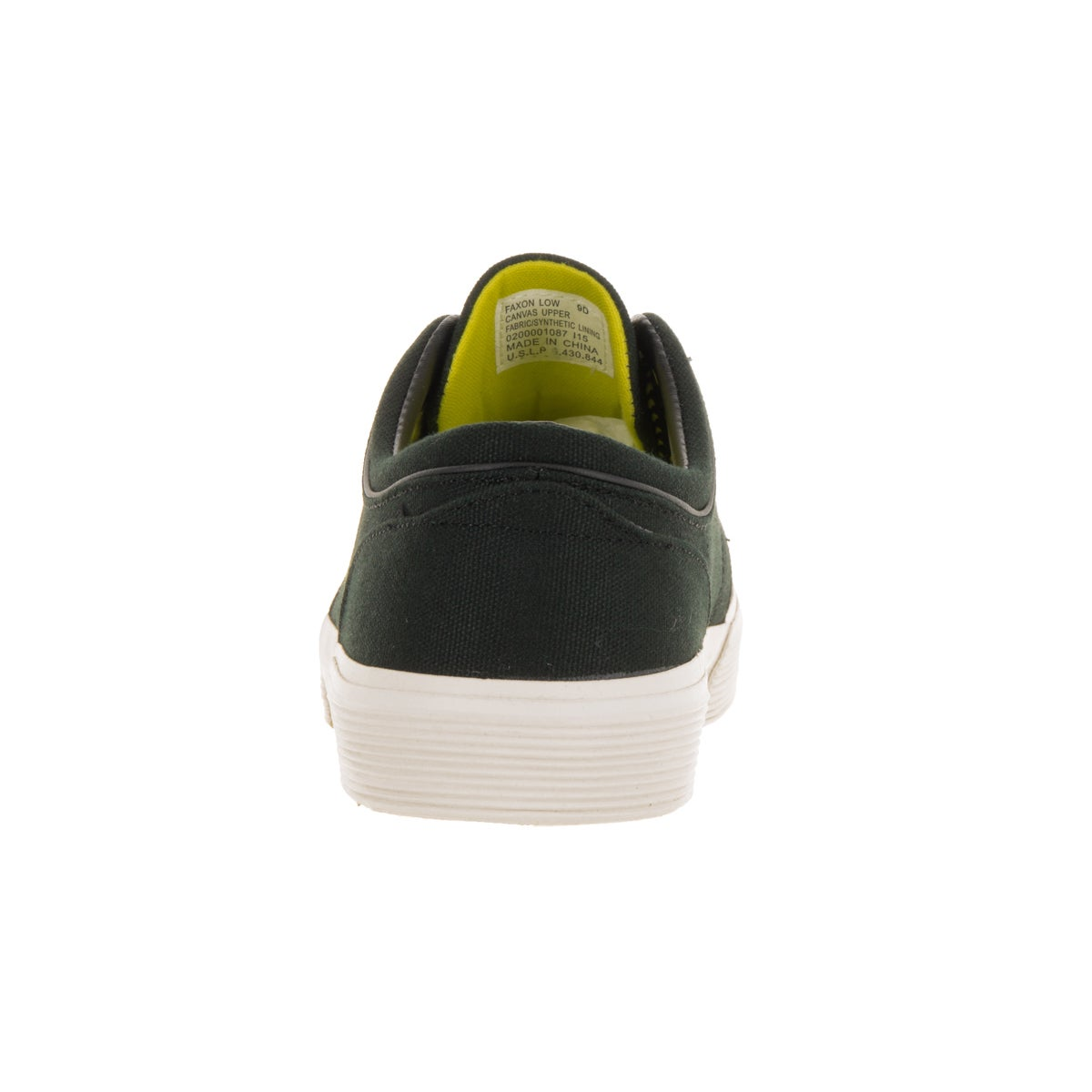 2a656705ede2a Shop Polo Ralph Lauren Men s Faxon Low Sk Black Yellow Casual Shoe - Free  Shipping Today - Overstock - 13395653