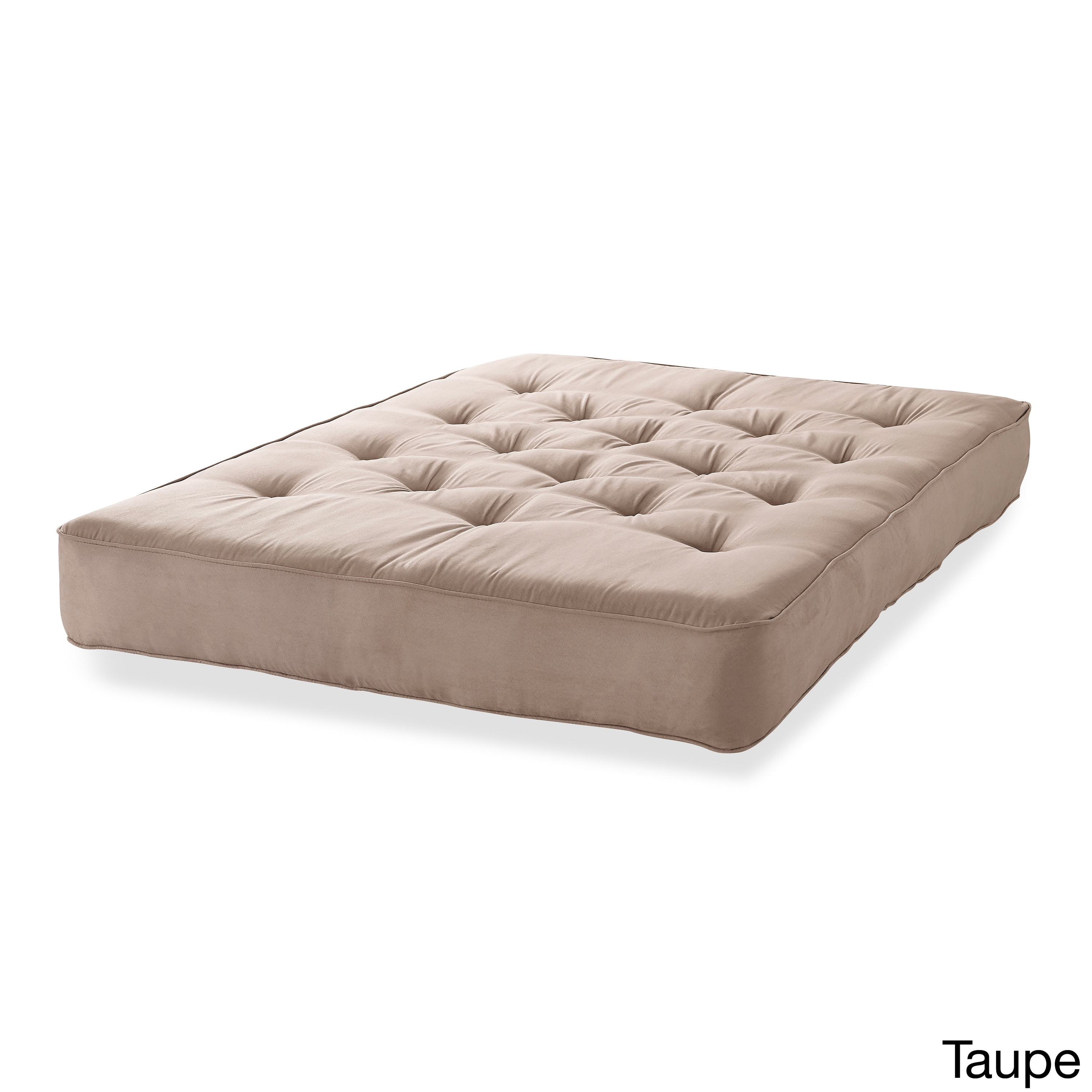 cotton twin certipur product foam serta chestnut overstock diablo cherry futon mattress free shipping dark arm and home today garden