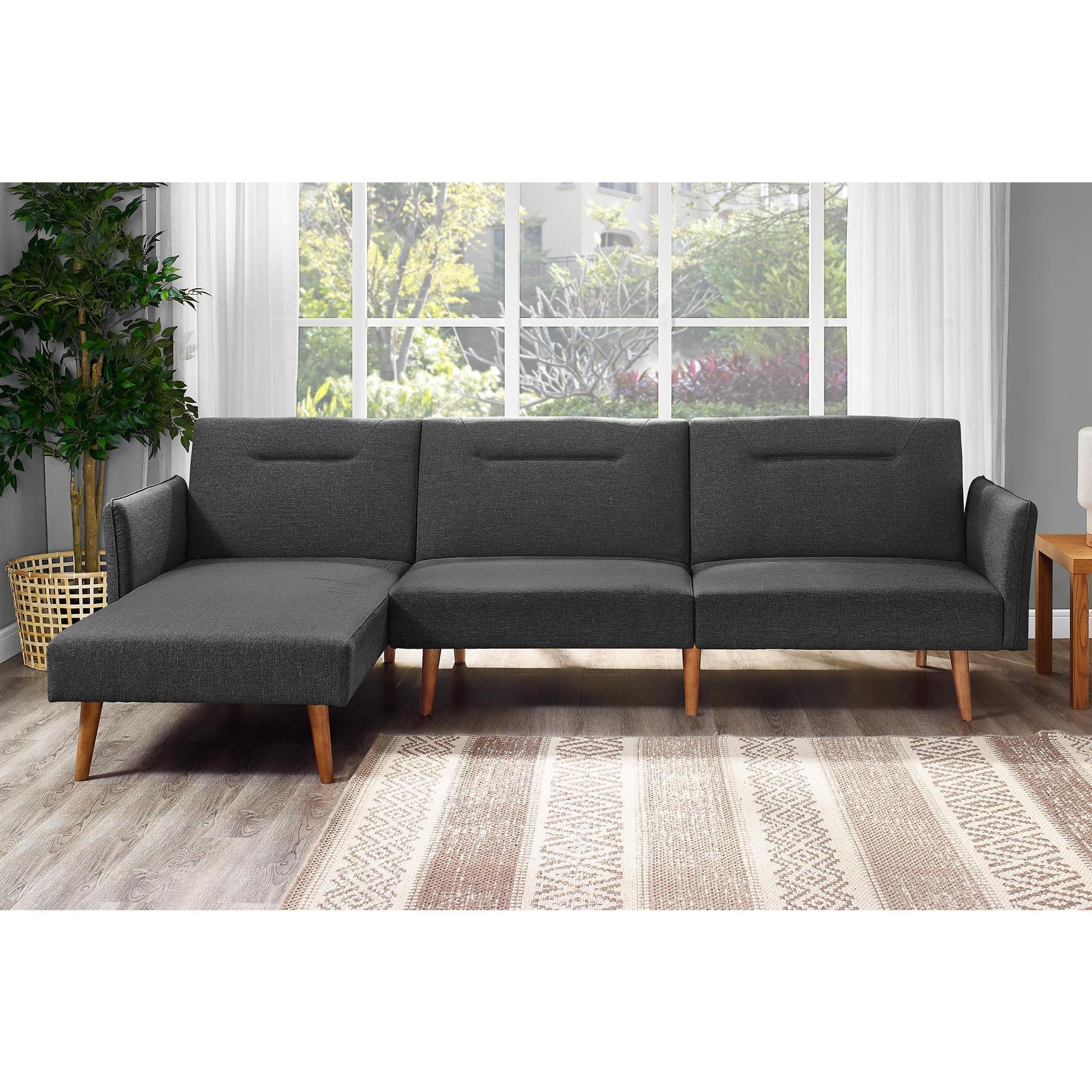 Dhp B Linen Futon Chaise Free Shipping Today Com 20099958