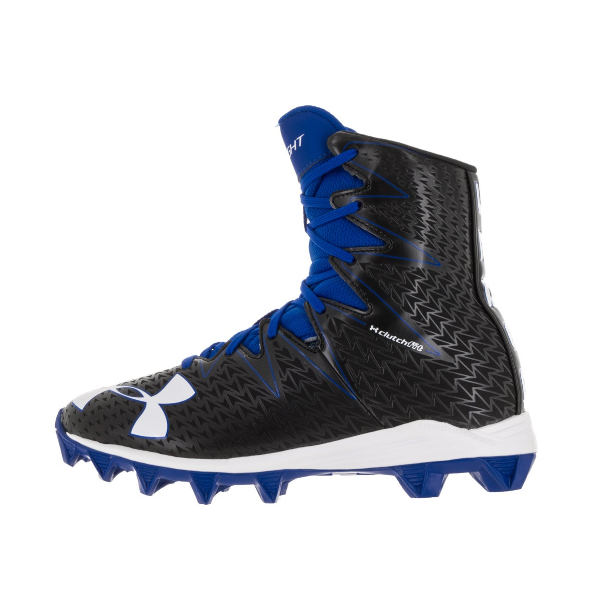 929b3bb74a428 Shop Under Armour Kids UA Highlight RM Jr. Blk/Try Football Cleat - Free  Shipping Today - Overstock - 13404588