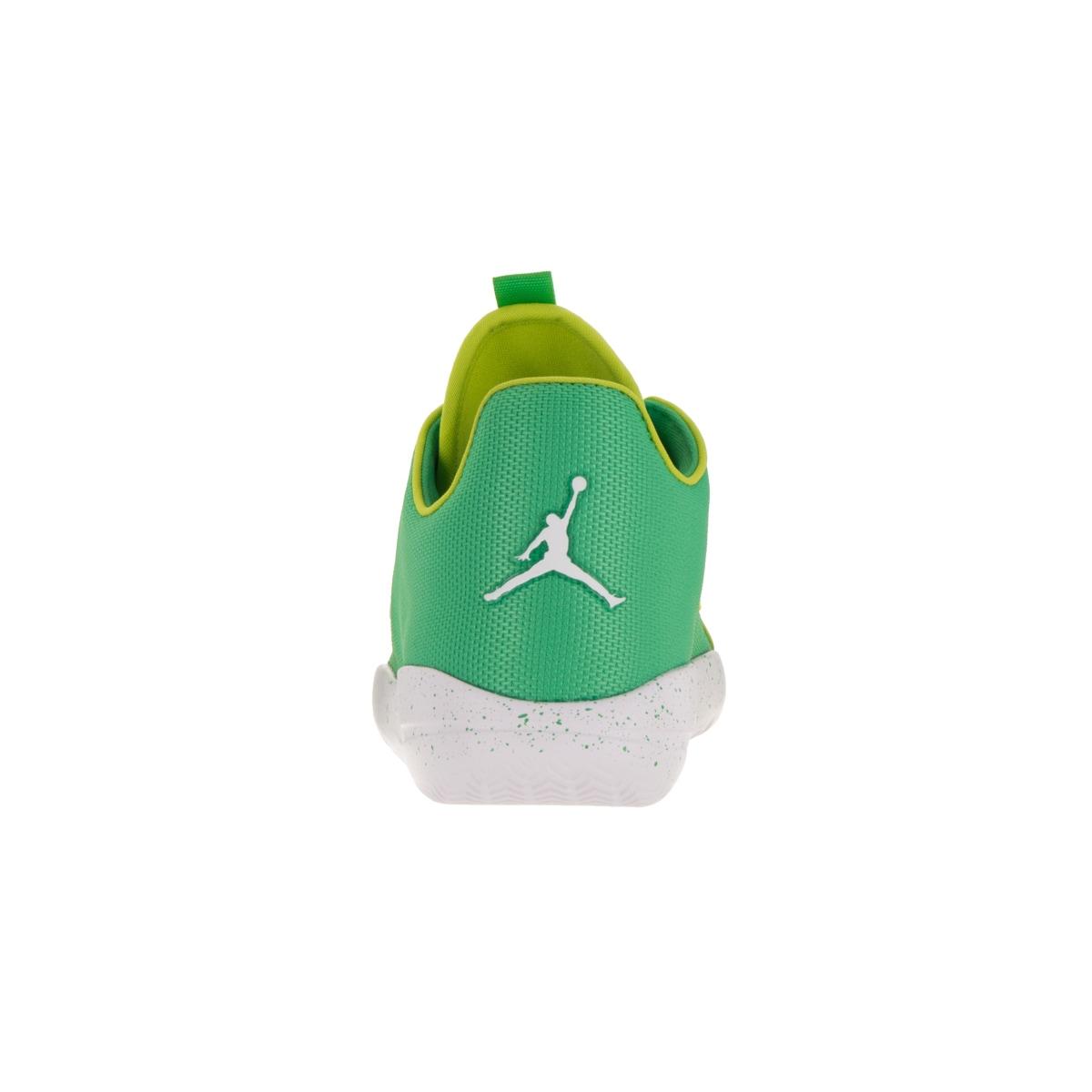 Shop Nike Jordan Kids  Jordan Eclipse Gamma Green and Cyber White Synthetic  Running Shoes - Free Shipping Today - Overstock.com - 13404619 83362a16bafa