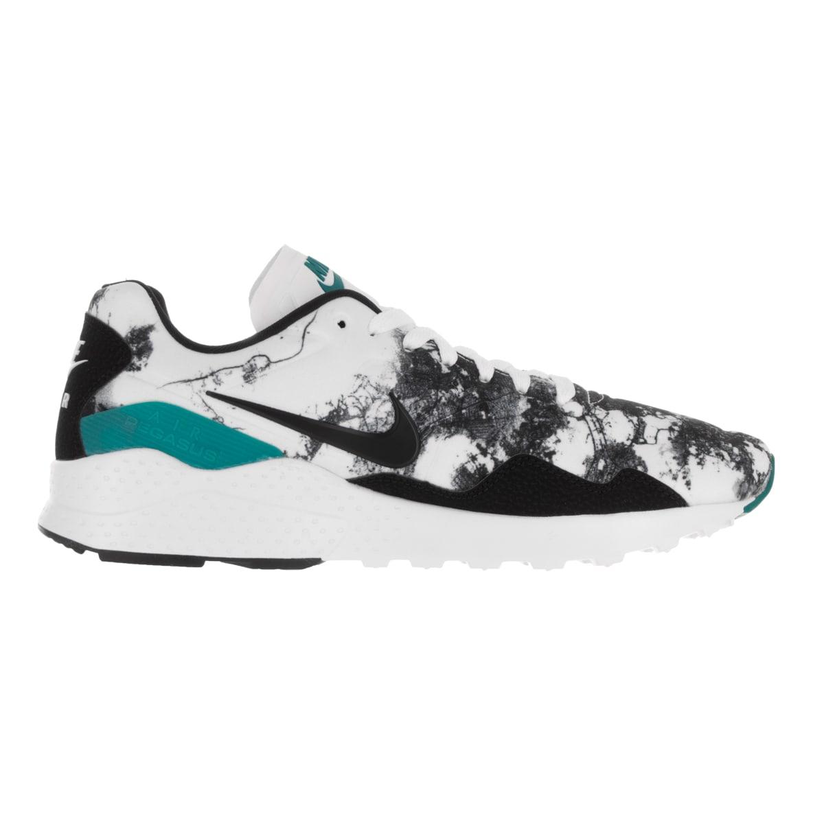 ea938b4faa87b Shop Nike Men's Air Zoom Pegasus 92 White, Black, Rio Teal Running Shoe -  Free Shipping Today - Overstock - 13404729