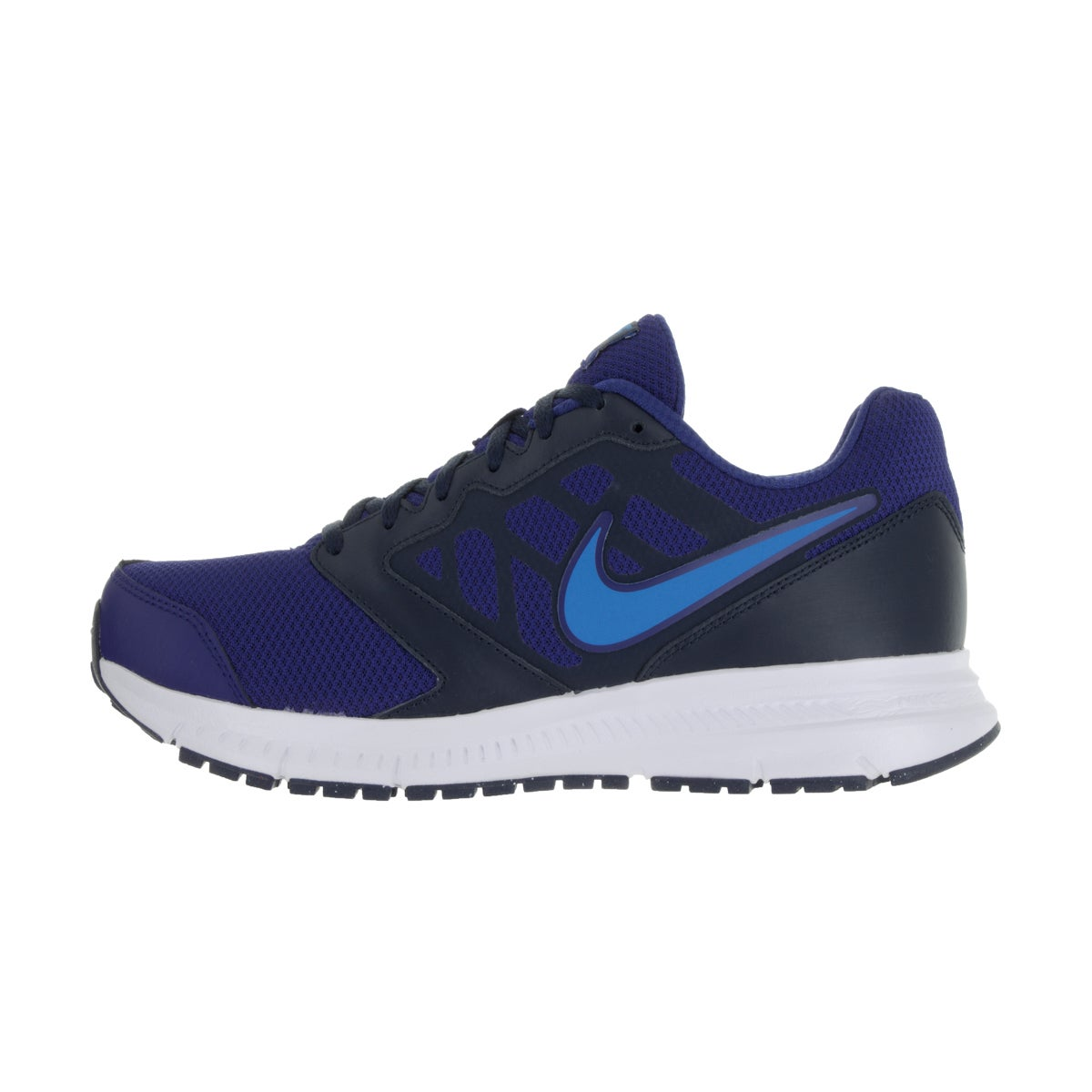 224283bf3ebc3 Shop Nike Men s Downshifter 6 Blue Fabric Running Shoes - Ships To Canada -  Overstock - 13404785