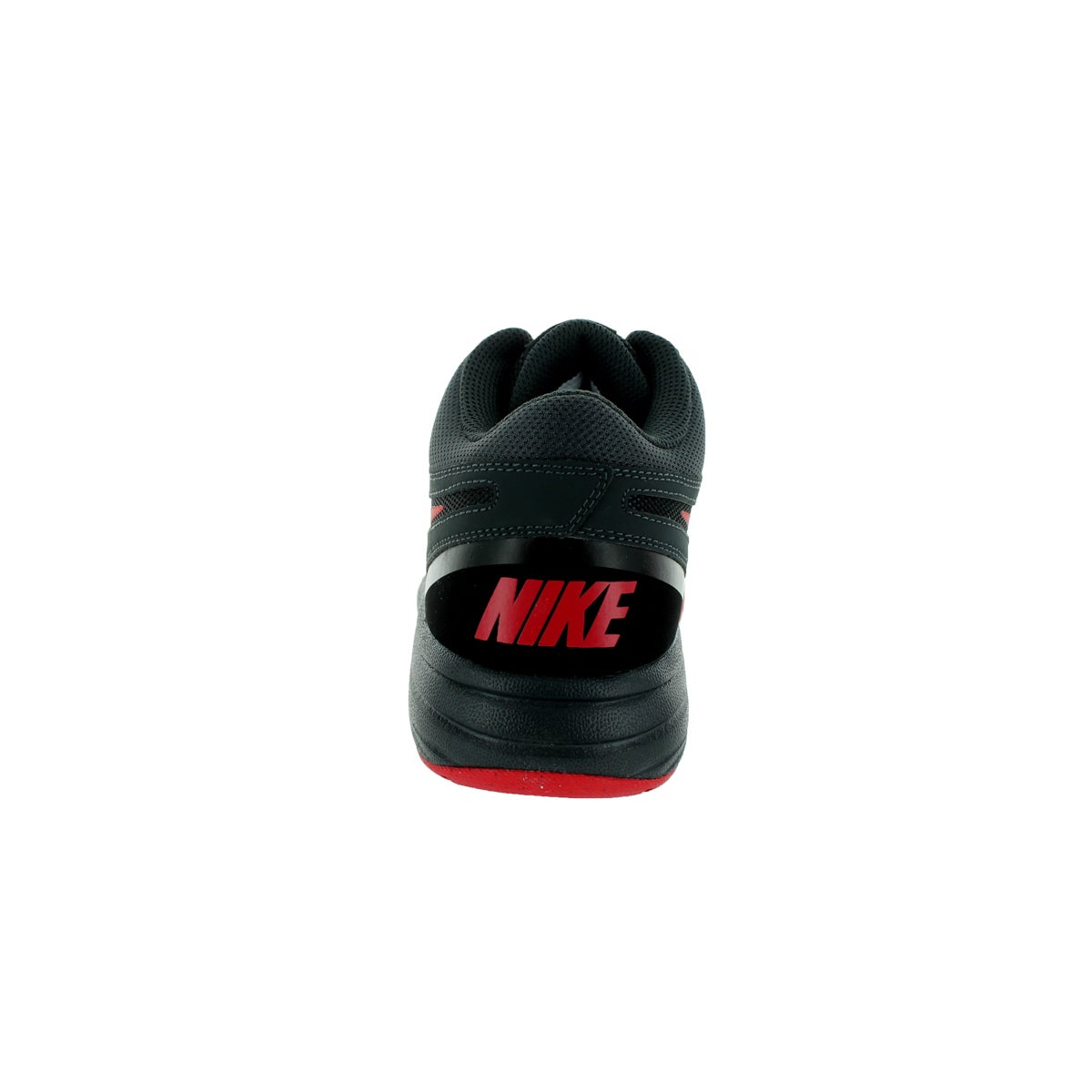 check out 8de91 11b6a Shop Nike Men s The Overplay VIII NBK Black University Red Anthracite Dark  Grey Nubuck Basketball Shoes - Free Shipping Today - Overstock - 13404791