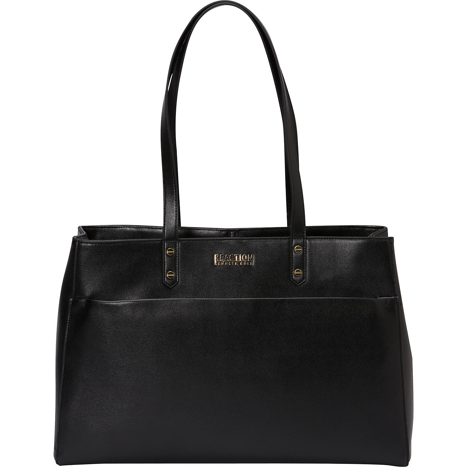Kenneth Cole Reaction Saffiano Dual Compartment 15 Inch Laptop Tote Bag With Anti Theft Rfid Protection Free Shipping Today