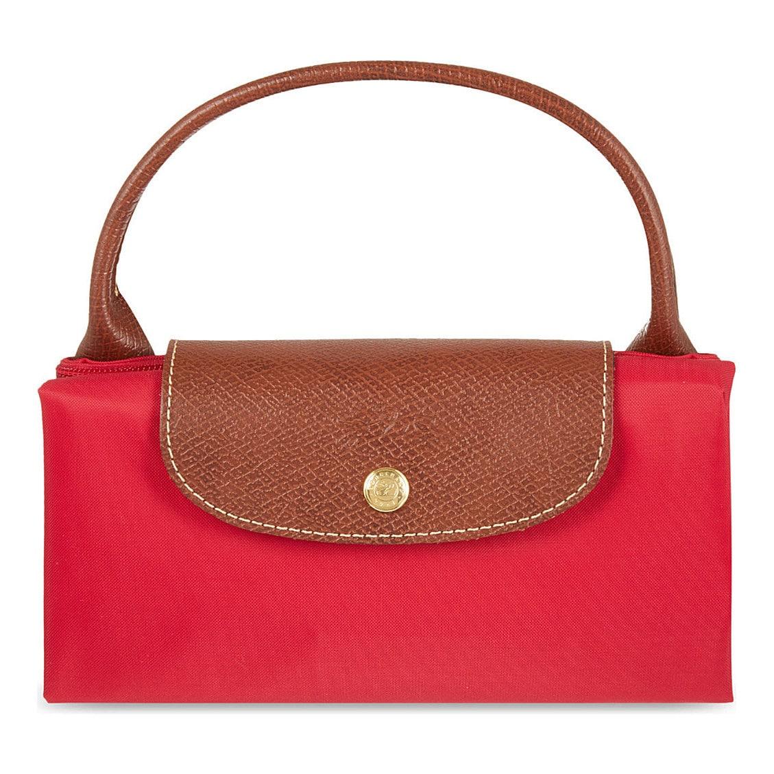 Shop Longchamp Le Pliage Garance Red Nylon Large Foldable Tote Bag - Free  Shipping Today - Overstock - 13415844 3f0a7b6e1028f