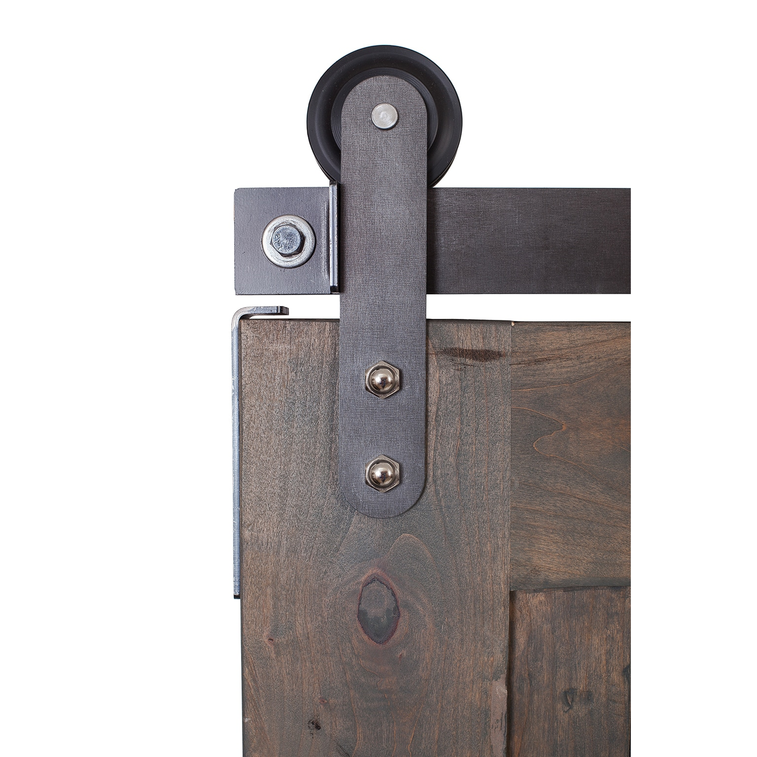 Ironwood Hardware Z-Barn Unassembled Door with Raw Steel Hardware - Free Shipping Today - Overstock - 20123129  sc 1 st  Overstock.com & Ironwood Hardware Z-Barn Unassembled Door with Raw Steel Hardware ...