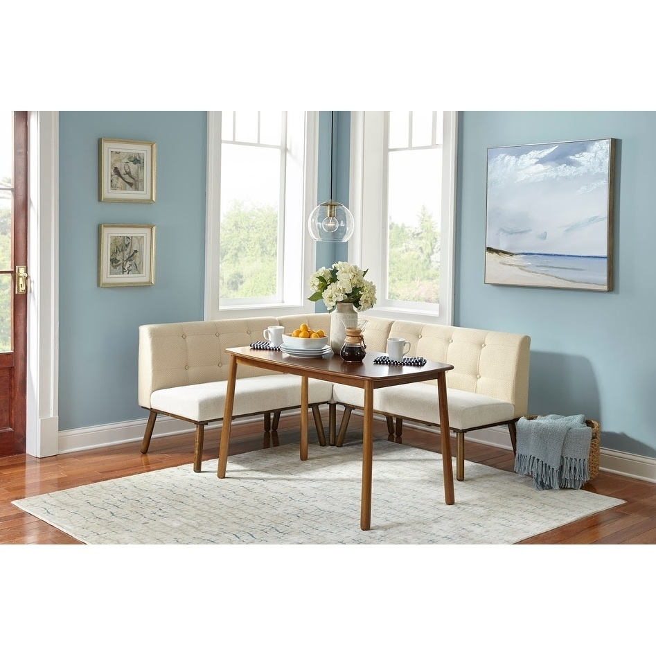 Shop Simple Living 4 Piece Playmate Nook Dining Set   Free Shipping Today    Overstock.com   13432052