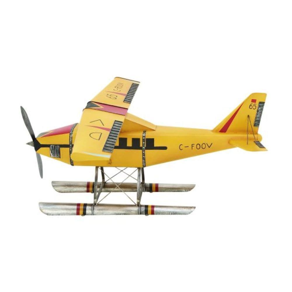 Shop Studio 350 Metal Airplane 59 inches wide, 22 inches high - Free ...