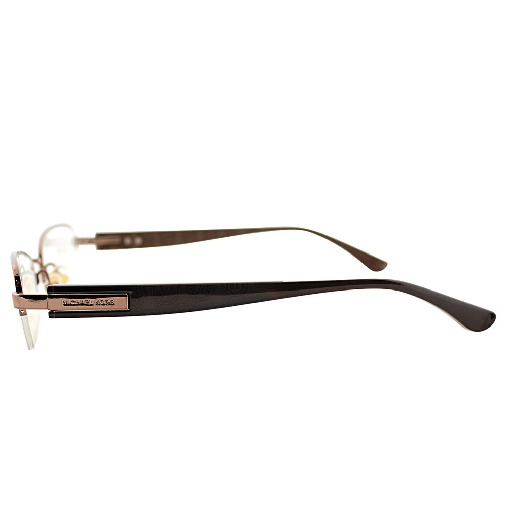 3a64f10862b7 Shop Michael Kors MK 361 239 Gold Metal Semi-Rimless Eyeglasses - Free  Shipping Today - Overstock - 13433152