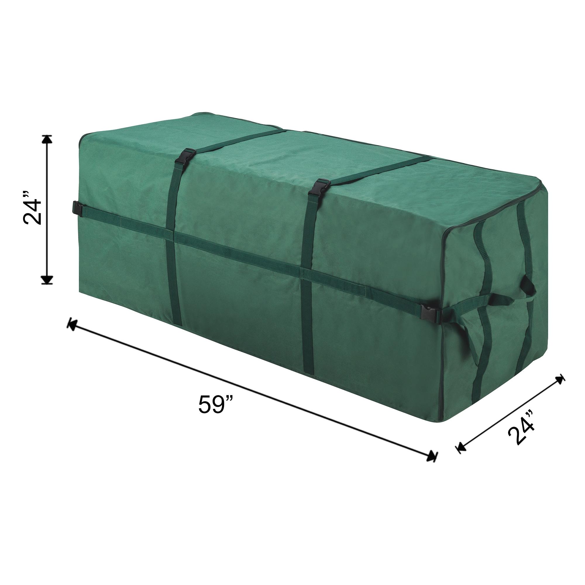 Elf Stor Heavy duty Canvas Christmas Tree Storage Bag for 9