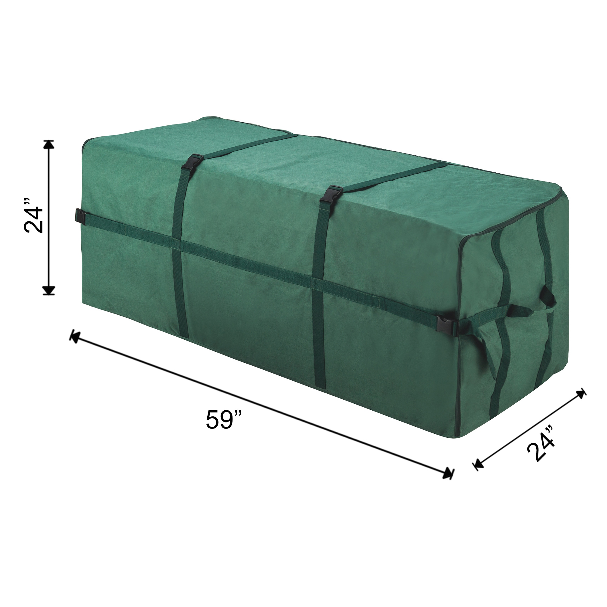 Shop Elf Stor Heavy-duty Canvas Large Christmas Tree Storage Bag for 9-foot Tree - Free Shipping On Orders Over $45 - Overstock.com - 13434286  sc 1 st  Overstock.com & Shop Elf Stor Heavy-duty Canvas Large Christmas Tree Storage Bag for ...