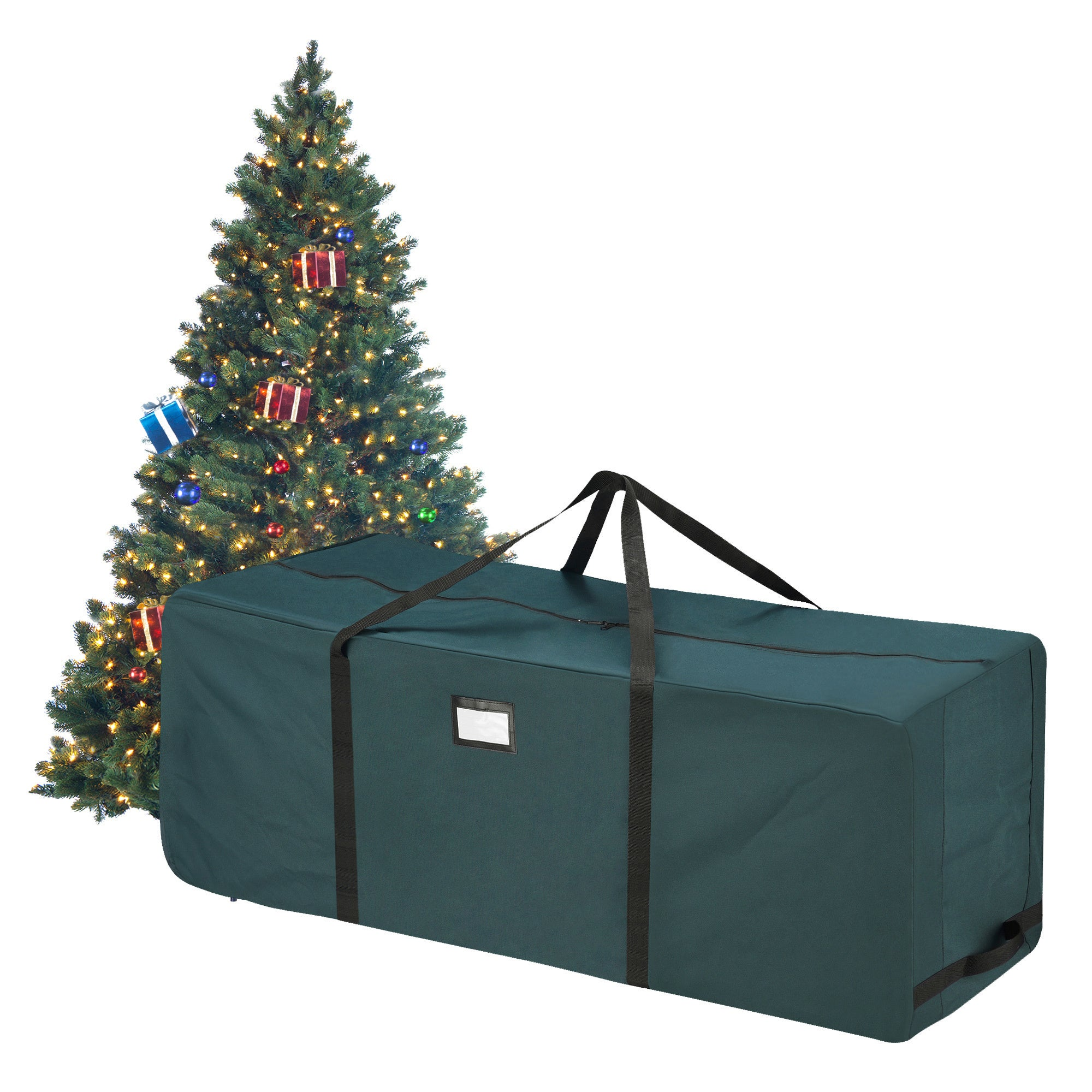 Shop Elf Stor Green Canvas Rolling Christmas Tree Storage Duffel Bag - Free  Shipping On Orders Over  45 - Overstock - 13434300 a7dbd34f13a6d