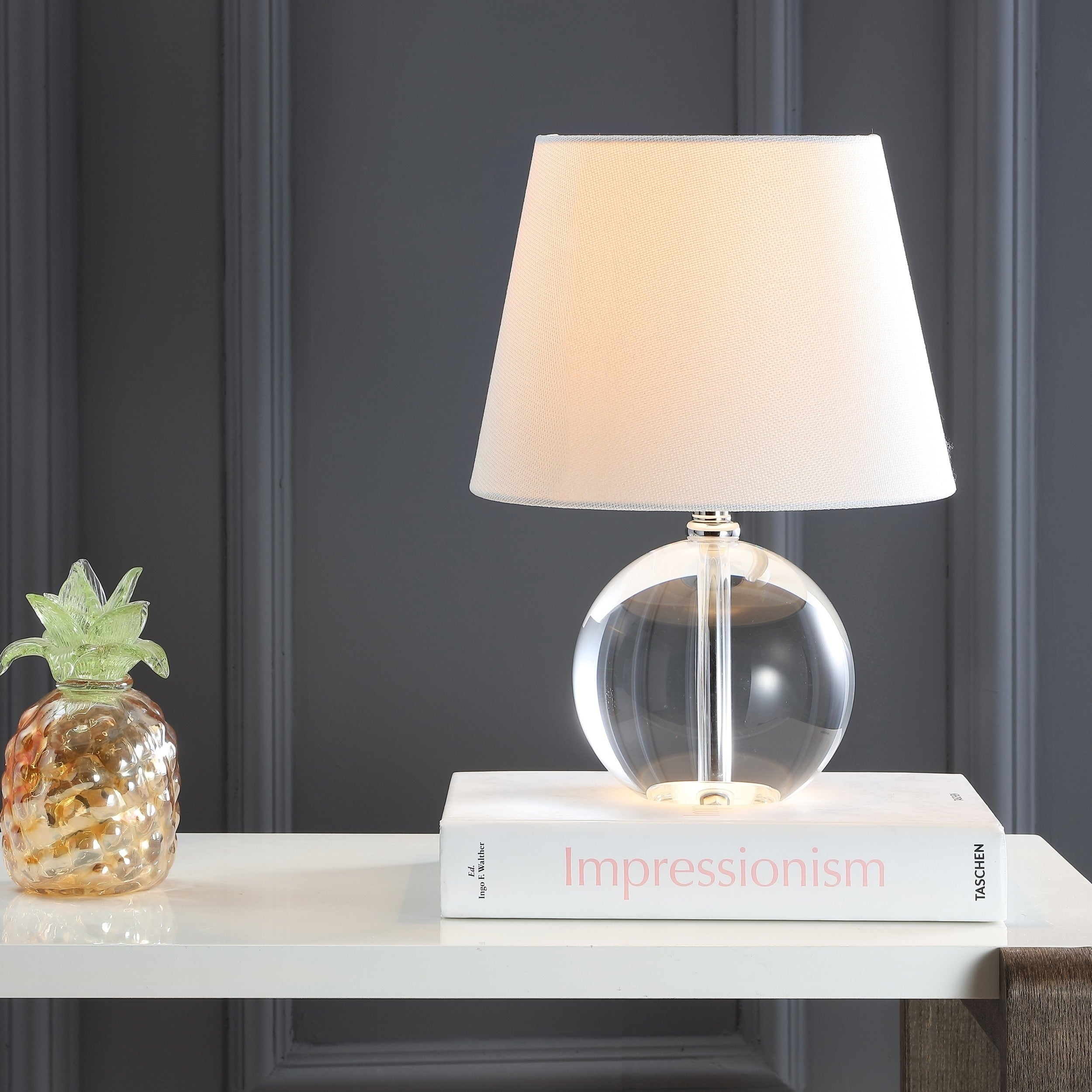 Shop Safavieh Lighting 14 Inch Mable Table Lamp On Sale Free