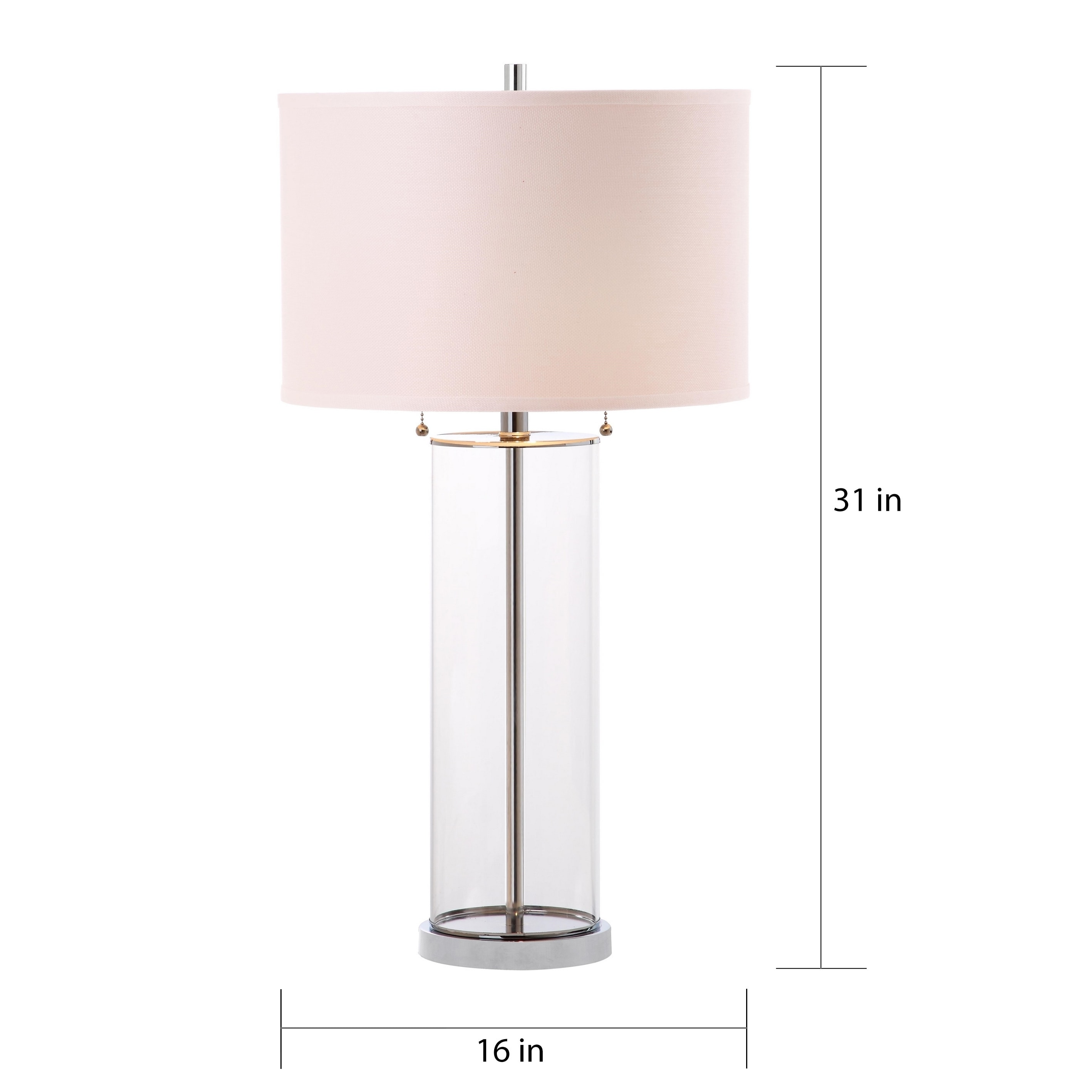 Shop safavieh lighting 31 inch velma clear off white table lamp shop safavieh lighting 31 inch velma clear off white table lamp set of 2 free shipping today overstock 13434465 aloadofball Choice Image
