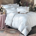 White Down Comforter and Feather Pillow 6-Piece Set