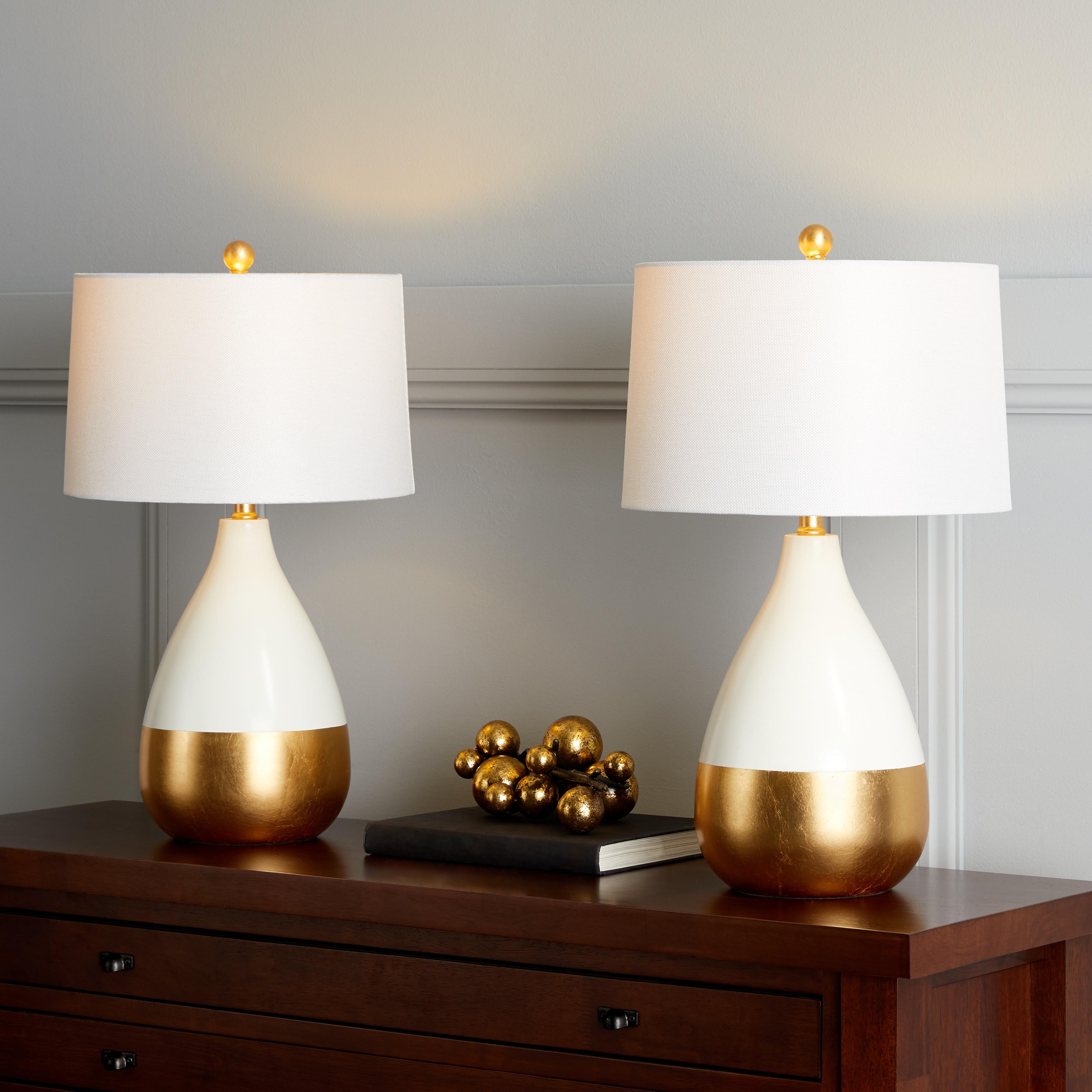 Shop Safavieh Lighting 24 inch Kingship White Gold