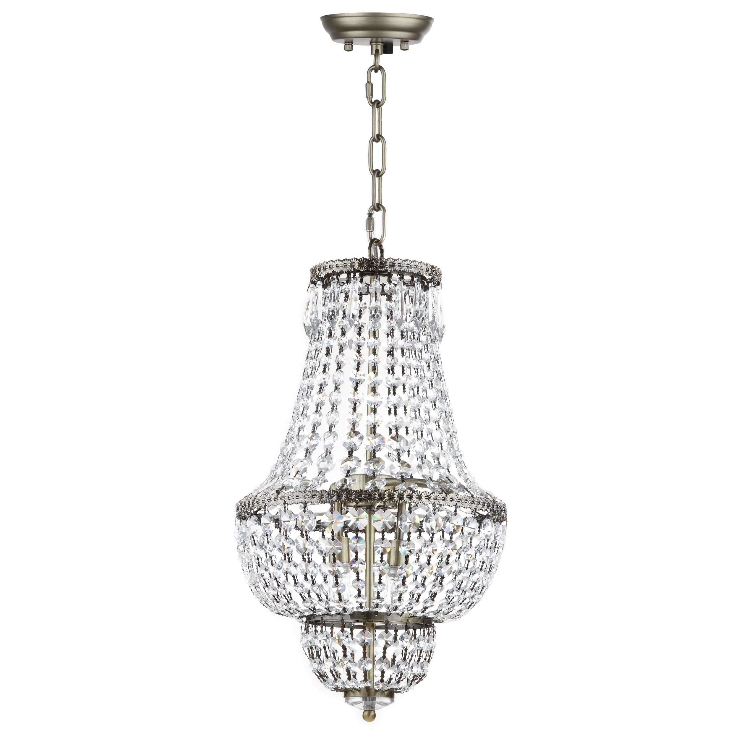 for chandelier beautiful at french white sale bead clay beaded of
