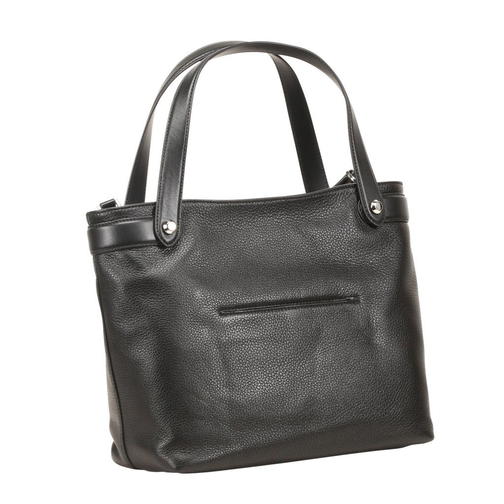 d44d0ca566be Shop Michael Kors Hyland Medium Black Convertible Tote Bag - Free Shipping  Today - Overstock.com - 13435001