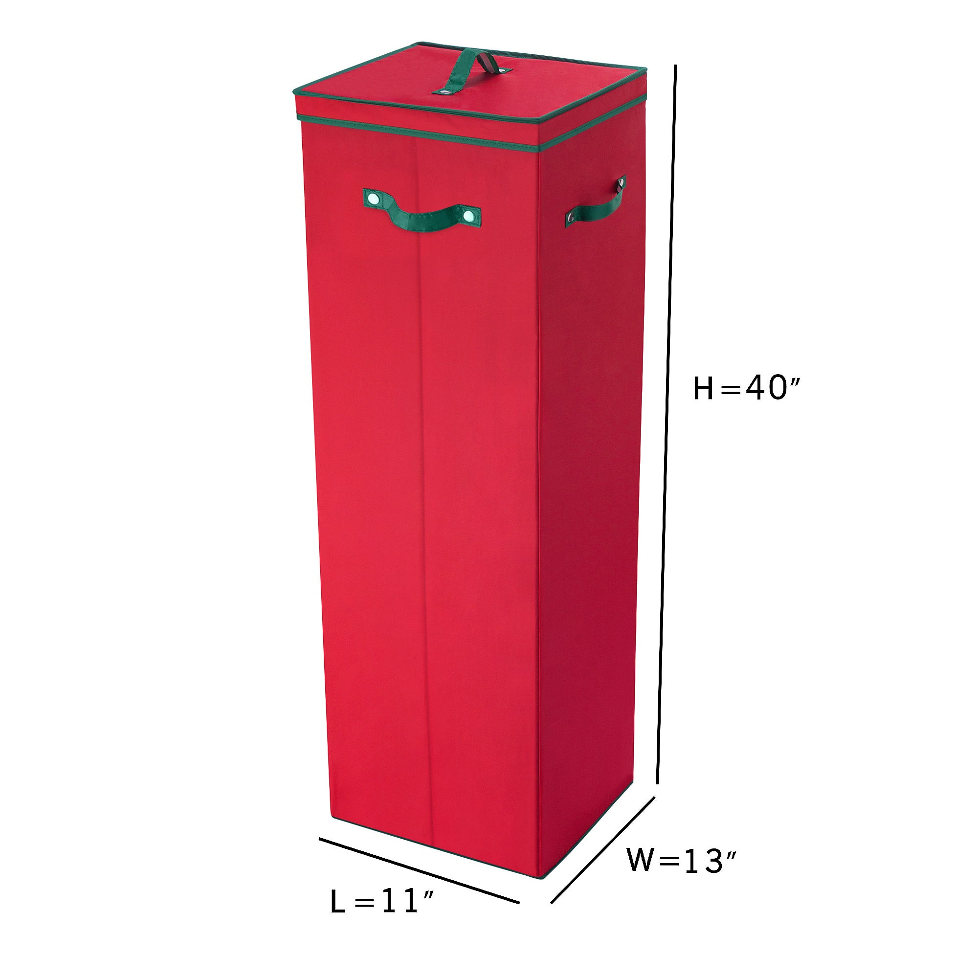 Charmant Shop Elf Stor Red 40 Inch Tall Wrapping Paper Storage Box With Lid   Free  Shipping On Orders Over $45   Overstock.com   13435214
