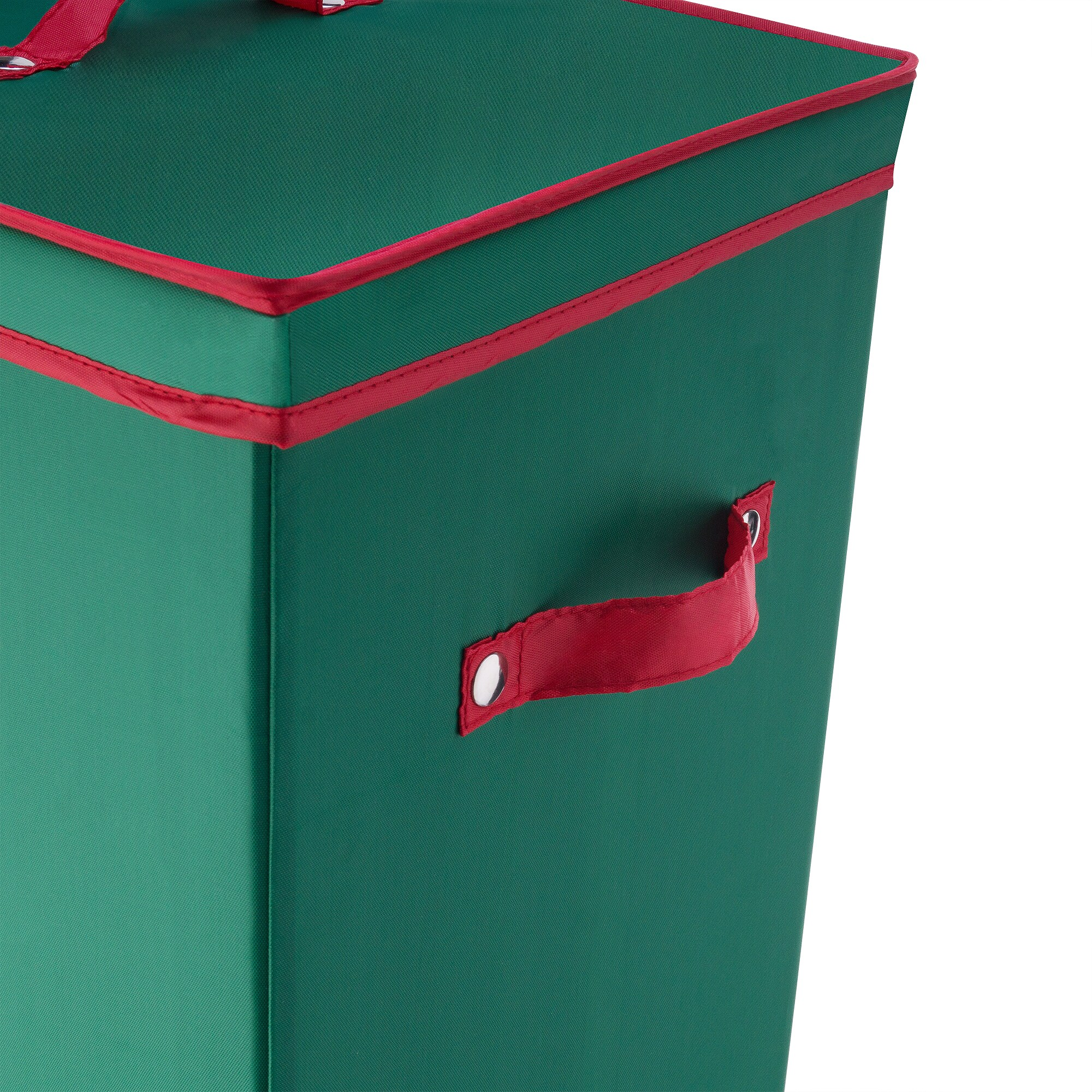 Shop Elf Stor Green Fabric 40 Inch Wrapping Paper Storage Box With Lid    Free Shipping On Orders Over $45   Overstock.com   13435216