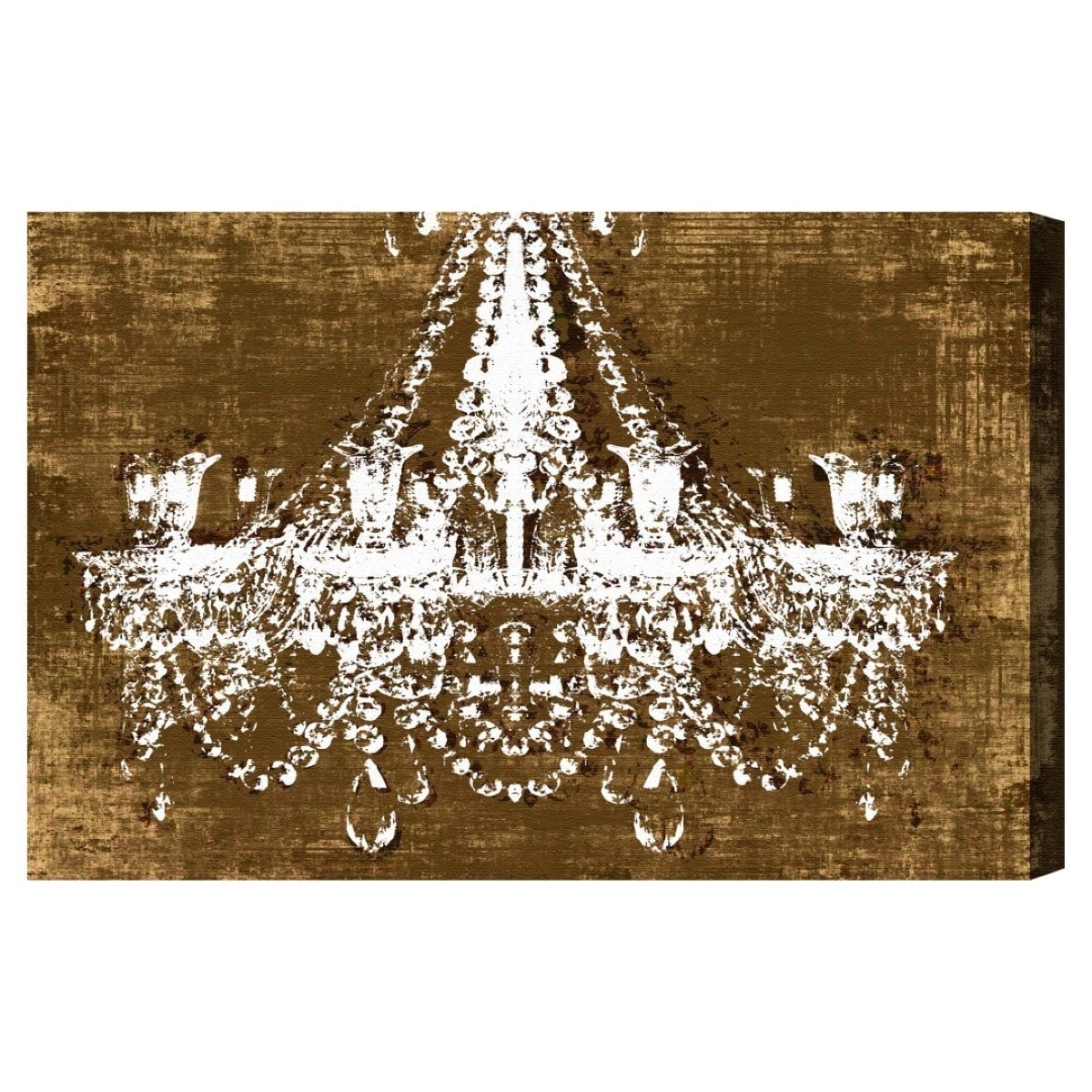 chandelier home gal garden overstock crushed product shipping today free art oliver canvas velvet