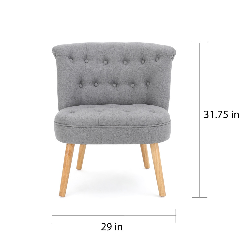 Christopher Knight Home Cicely Tufted Fabric Accent Chair - Free ...
