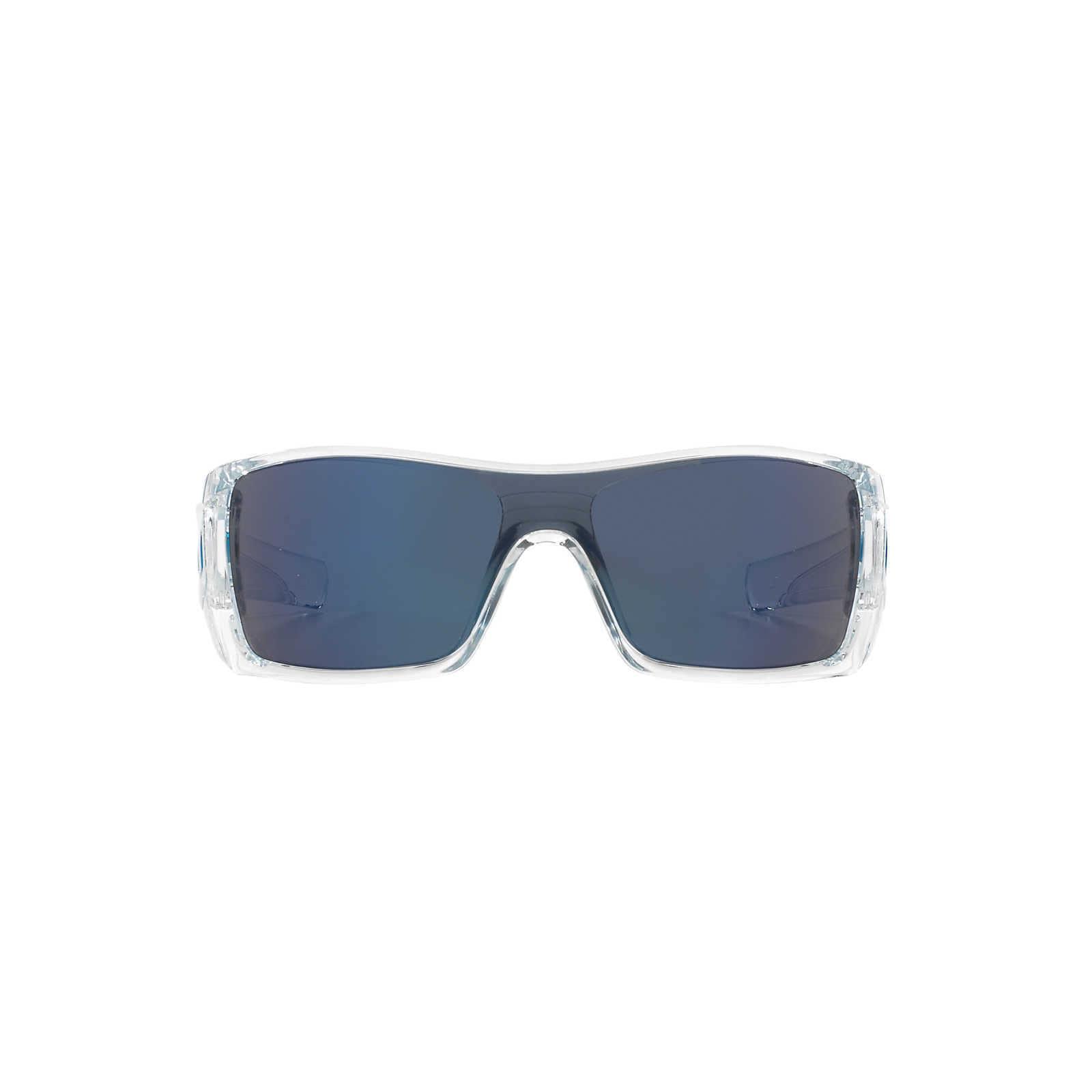 Shop Oakley Batwolf 0OO9101910107 Men\'s Polished Clear Frame Ice ...