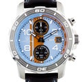 Aubert Freres Durand Men's Chronograph Watch IP Unidirectional Stainless Steel Bezel