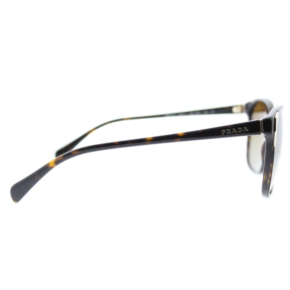 0cd00ea05c4 Shop Prada PR 01OS 2AU6E1 Havana Plastic Square Brown Gradient Polarized  Lens Sunglasses - Free Shipping Today - Overstock - 13448294