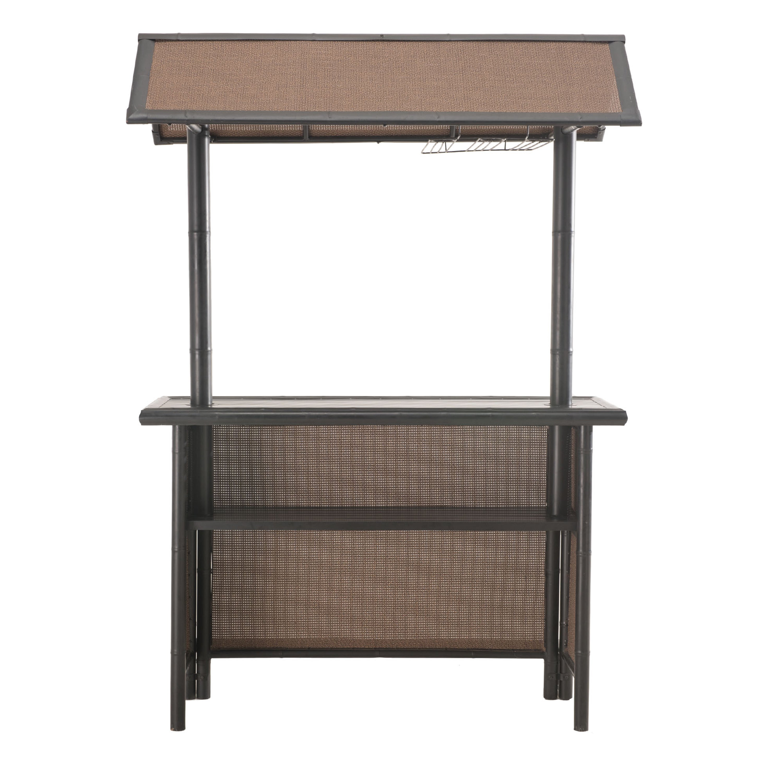 3 piece patio bar set. plain set shop sunjoy fiji 3piece patio bar set  free shipping today  overstockcom 13449511 inside 3 piece