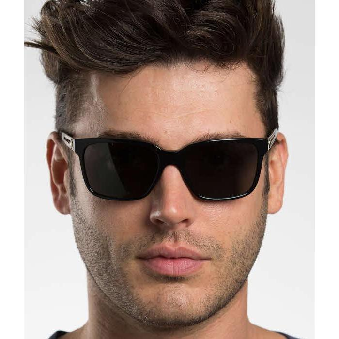 3a7ec38be6f Shop Versace Mens VE4307 GB1 87 Black Plastic Square Sunglasses - Free  Shipping Today - Overstock - 13453528