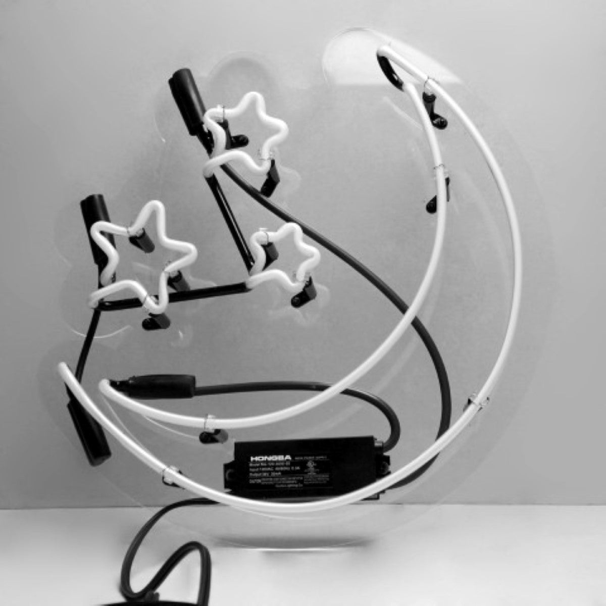 Oliver Gal Moon And Stars Neon Sign Free Shipping Today 20173615