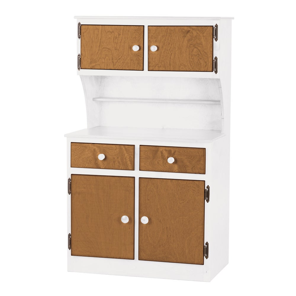 Children\'s REAL WOOD Play Kitchen Hutch/Cabinet - Free Shipping ...