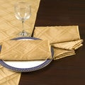 Howard Elliott Collection Goldtone Pin-Tuck Napkins (Pack of 4)