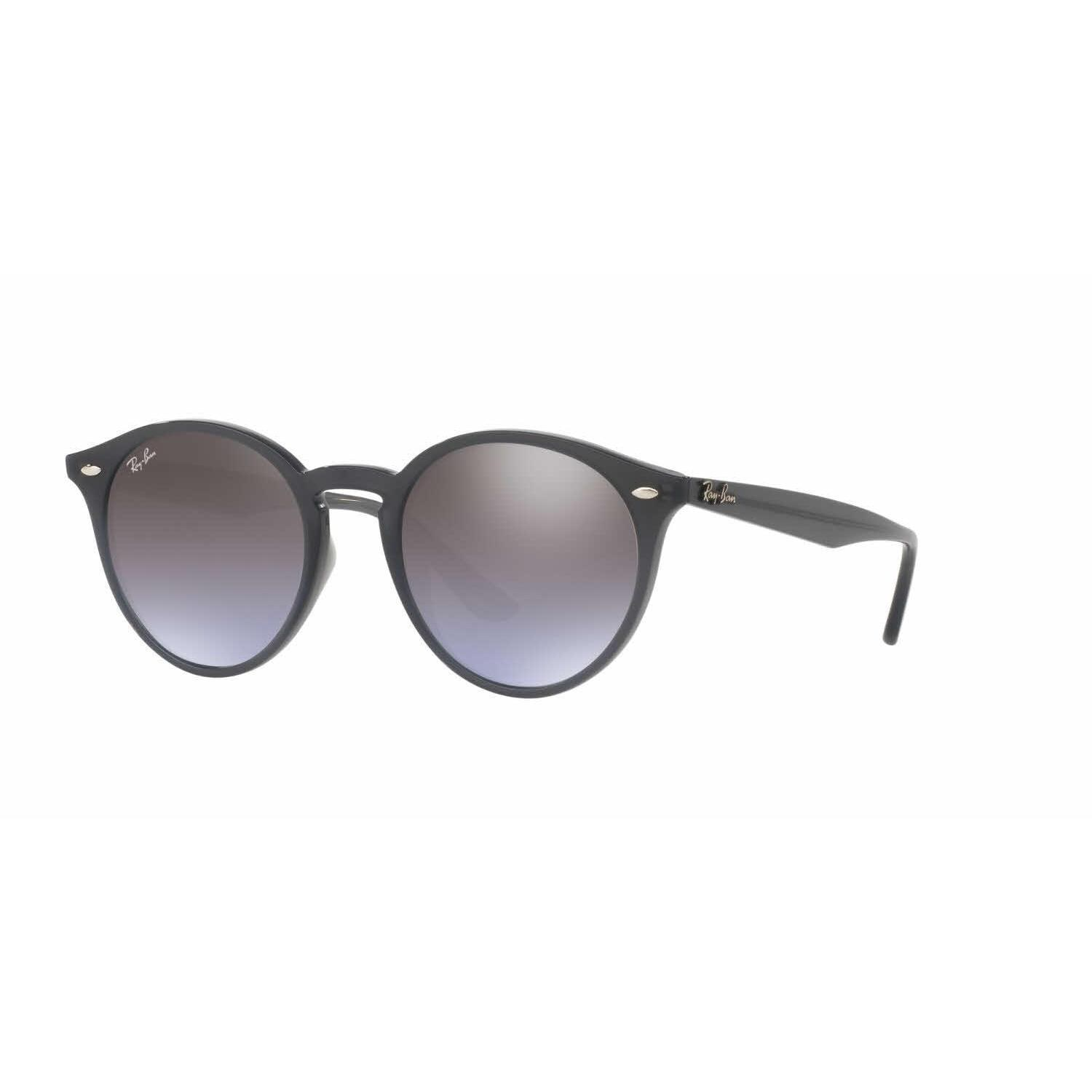 944387d060 Shop Ray Ban Mens RB2180F 623094 Grey Plastic Phantos Sunglasses - Violet -  Free Shipping Today - Overstock.com - 13467358