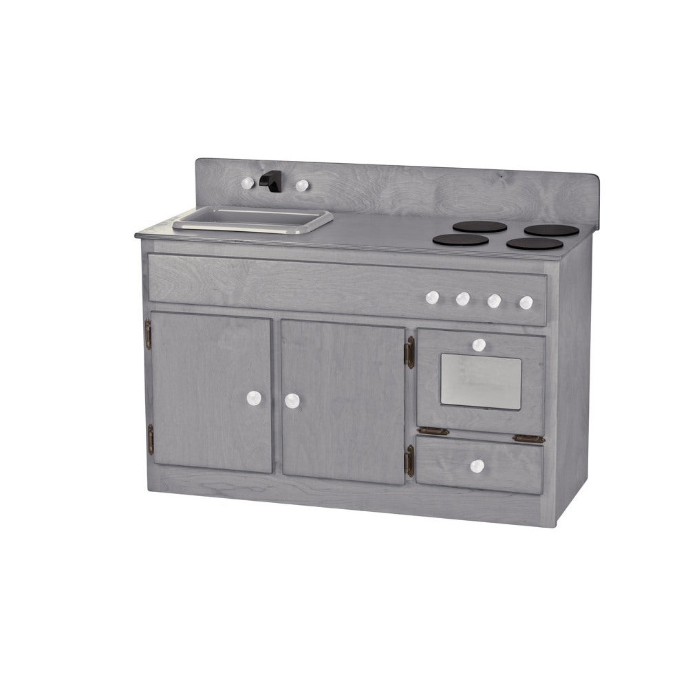 Shop Childrenu0027s REAL WOOD Play Kitchen Sink/Stove Combo   Free Shipping  Today   Overstock.com   13468056