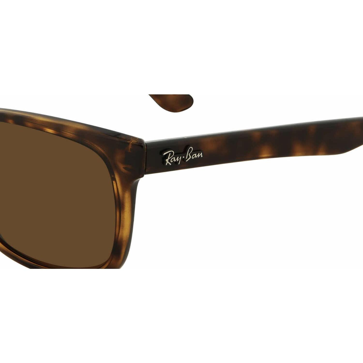 ef07345aa0 Shop Ray Ban Mens RB4181 710 83 Havana Plastic Square Sunglasses - Brown -  Free Shipping Today - Overstock - 13469085