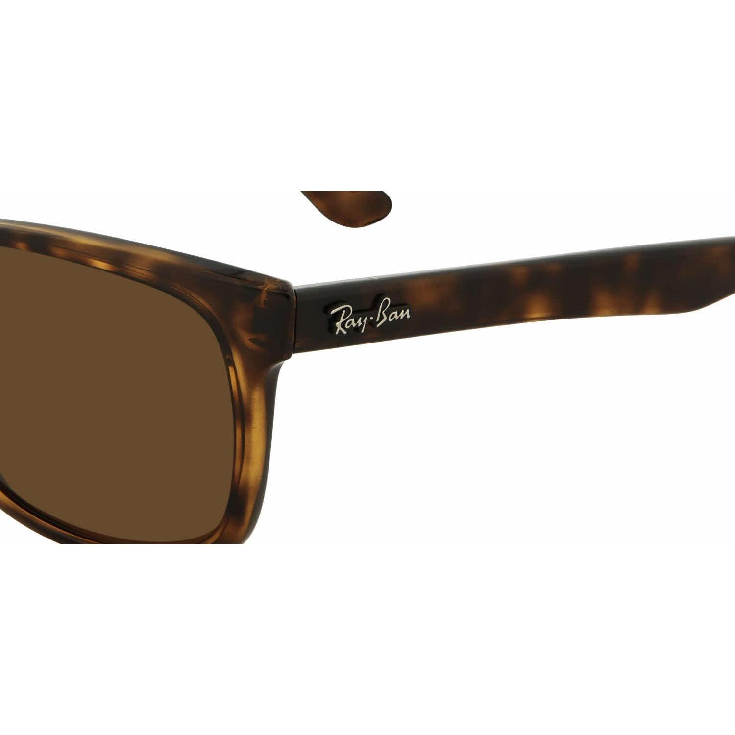 112dfd172af Shop Ray Ban Mens RB4181 710 83 Havana Plastic Square Sunglasses - Brown -  Free Shipping Today - Overstock - 13469085